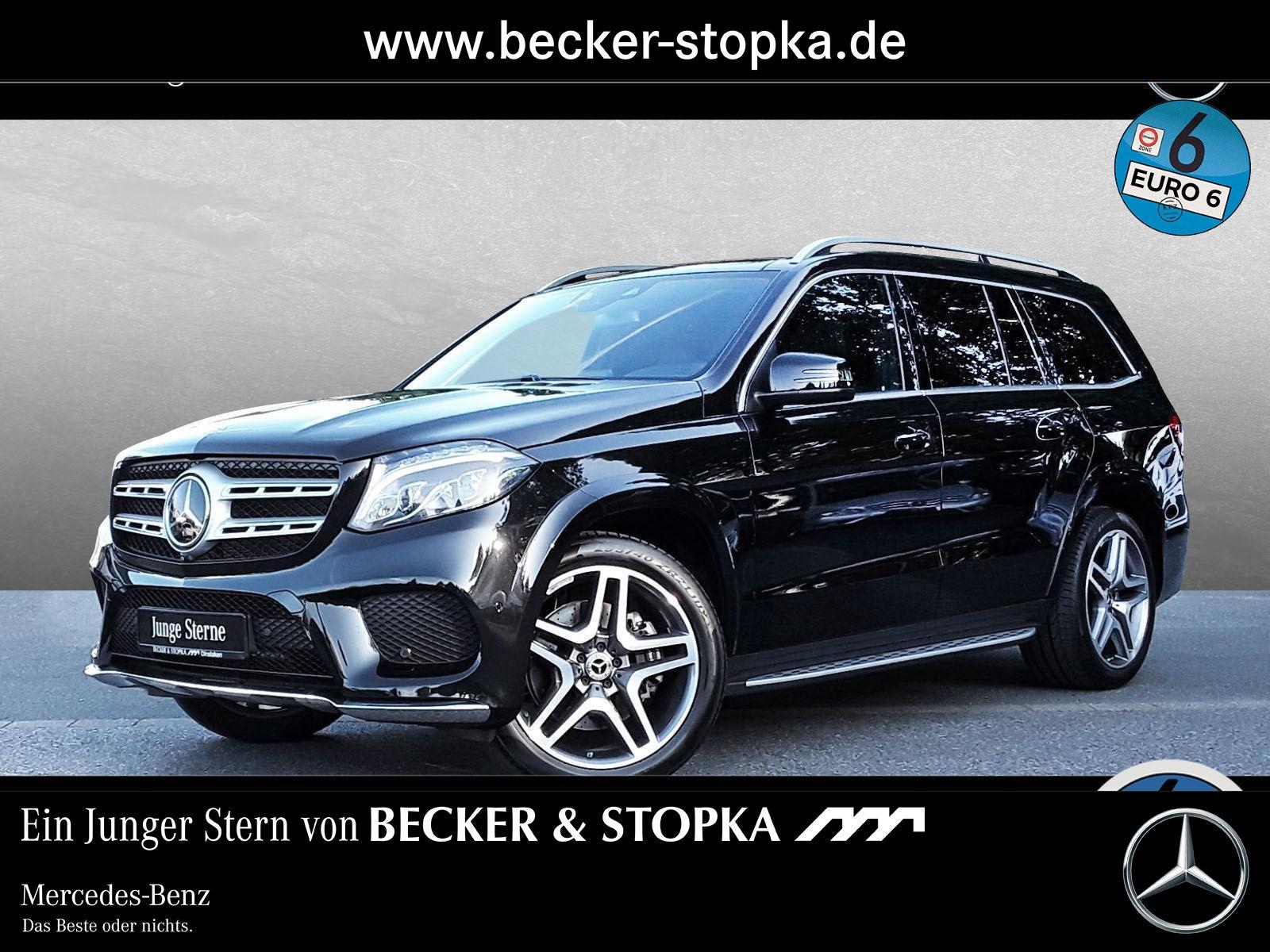 Mercedes-Benz GLS 400 AMG ILS COMAND AHK PSD DISTRONIC. MEMORY, Jahr 2019, petrol
