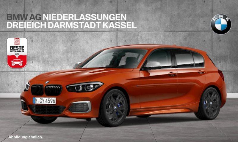 BMW M140i 5-Türer M Sportbr. Var. Lenkung LED RTTI, Jahr 2018, Benzin
