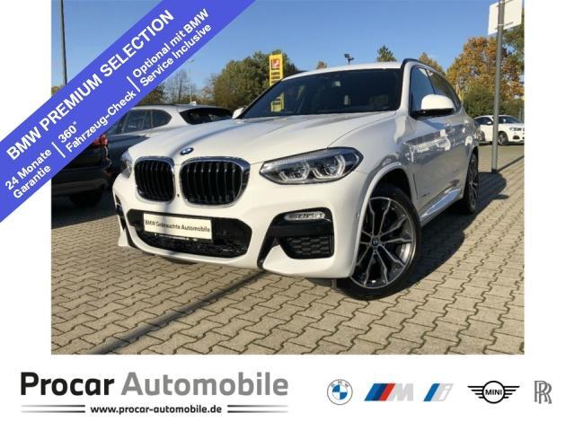 BMW X3 xDrive30d M Sport Navi Prof. PA+ 20 Zoll LM, Jahr 2017, Diesel