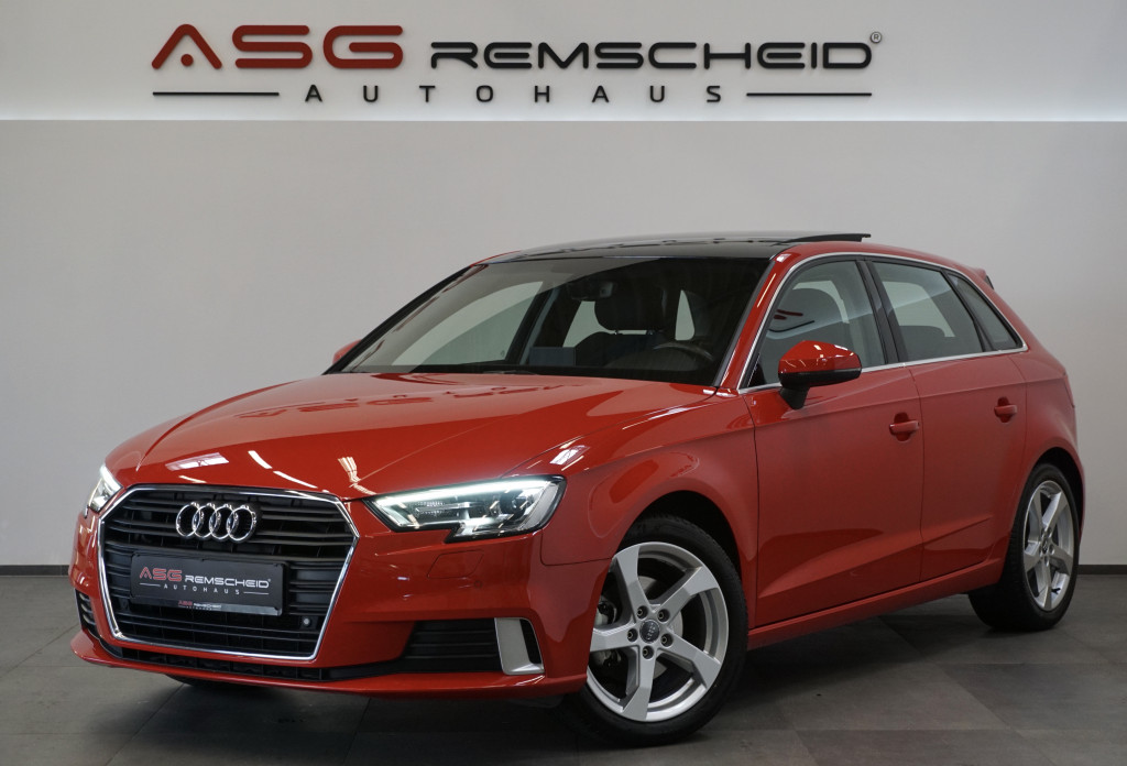 Audi A3 1,4 TFSI Sport *Pano *Virtual *Navi *53TKM*, Jahr 2017, Benzin