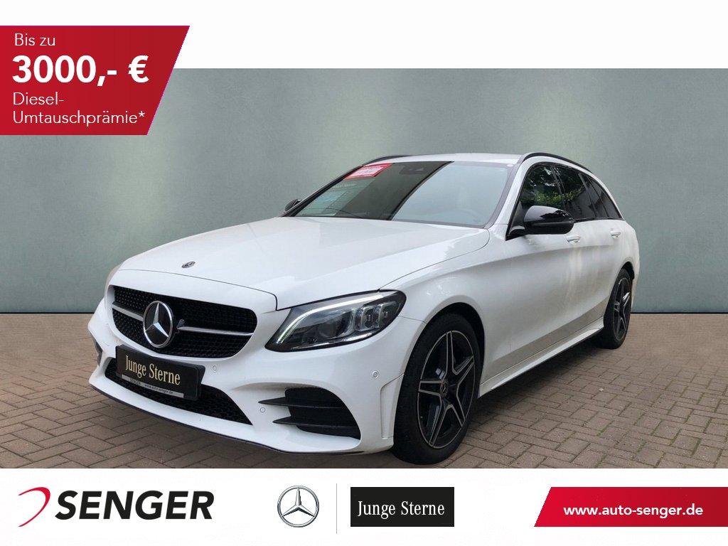 Mercedes-Benz C 200 T AMG-Line Widescreen Multibeam, Jahr 2020, Benzin