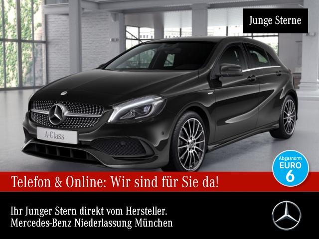 Mercedes-Benz A 180 AMG LED Navi Totwinkel PTS Sitzh Sitzkomfort, Jahr 2018, Benzin