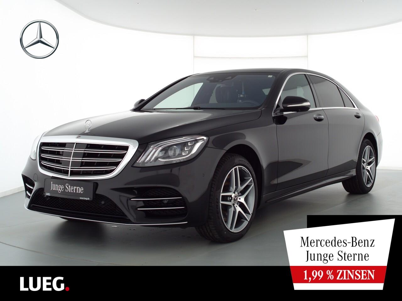 Mercedes-Benz S 450 4M L AMG+COM+Pano+Burm+Mbeam+Chauffeur+360, Jahr 2020, Benzin