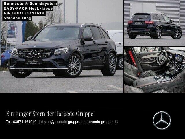 Mercedes-Benz GLC 43 AMG 4M LED+STHZ+AHK+KAMERA+PTS+SHZ+SOUND+, Jahr 2016, Benzin