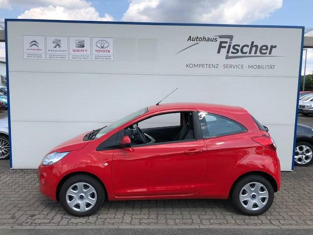 Ford Ka 1.2 Start-Stopp-System Cool & Sound Edition, Jahr 2013, petrol