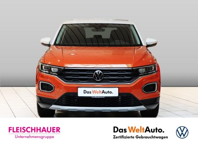 Volkswagen T-Roc United 1.5 TSI ACT LED NAVI KLIMA SHZ PDC AHK, Jahr 2020, Benzin