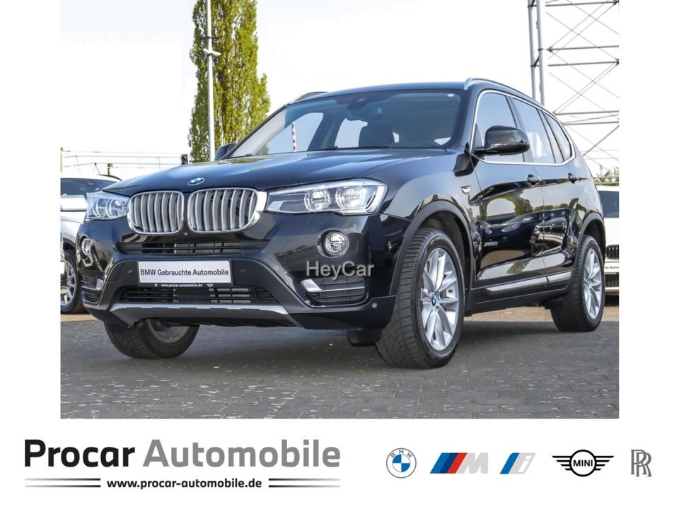 BMW X3 xDrive30d xLine Head-Up LED AHK Pano Standhzg, Jahr 2016, Diesel