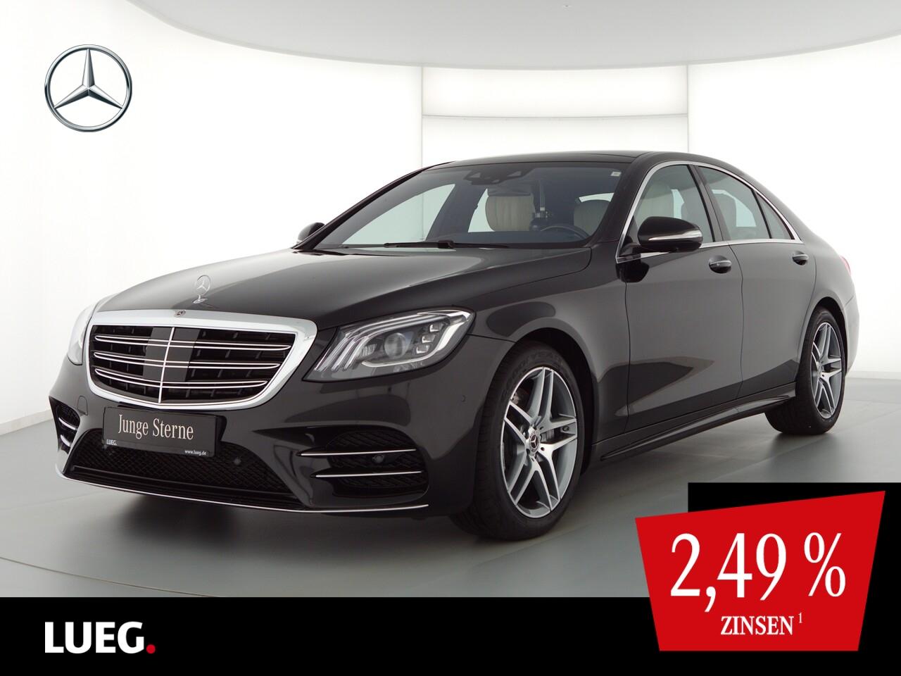 Mercedes-Benz S 350 d 4M AMG+COM+Pano+Burm+Mbeam+KeyGo+HUD+360, Jahr 2020, Diesel