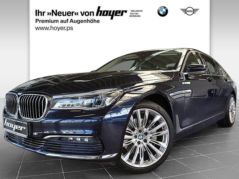 BMW 740d xDrive Limousine Ferngesteuertes Parken, Jahr 2016, Diesel