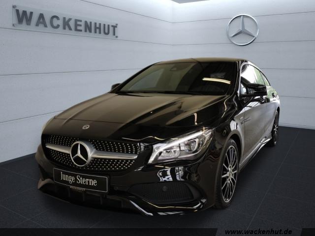 Mercedes-Benz CLA 220 Shooting Brake 4M AMG PEAK BUSI+LED+NAVI, Jahr 2017, Benzin