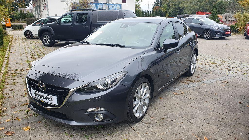 Mazda 3 SKYACTIV-G 120 Sports-Line|LEDER|NAVI, Jahr 2014, Benzin