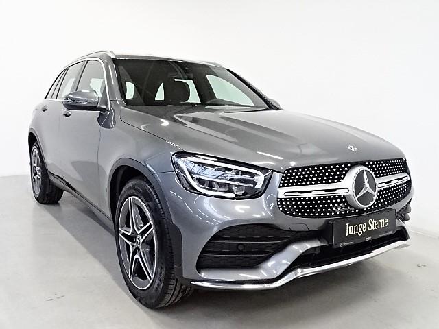 Mercedes-Benz GLC 300 4M AMG/19''/9G/LED/MBUX/Tempomat/, Jahr 2019, Benzin