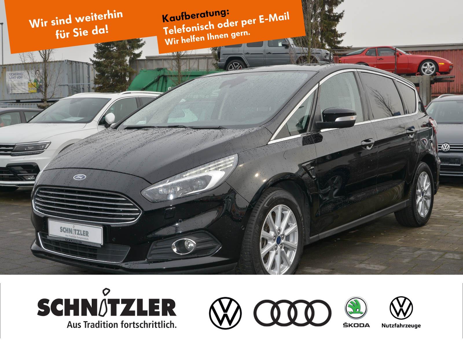 Ford S-Max 2.0 TDCi POWERSHIFT Titanium ACC/LED/PDC+++, Jahr 2017, Diesel