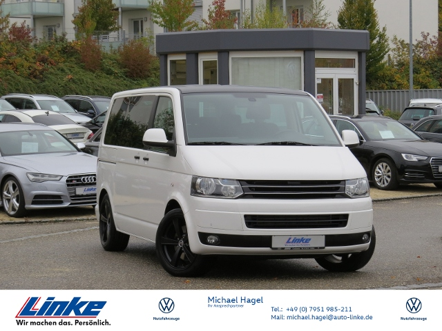Volkswagen T5 Multivan 2.0 BiTDI DSG Navi/AHK/GRA KLIMA ALU, Jahr 2013, Diesel