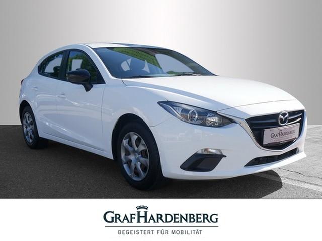 Mazda 3 Lim. Prime-Line Berganfahrhilfe Radio Klima, Jahr 2014, Benzin
