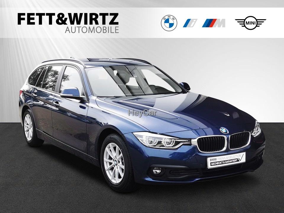 BMW 316d Touring Adv. Leas. ab 252,- br. o. Anz., Jahr 2020, Diesel