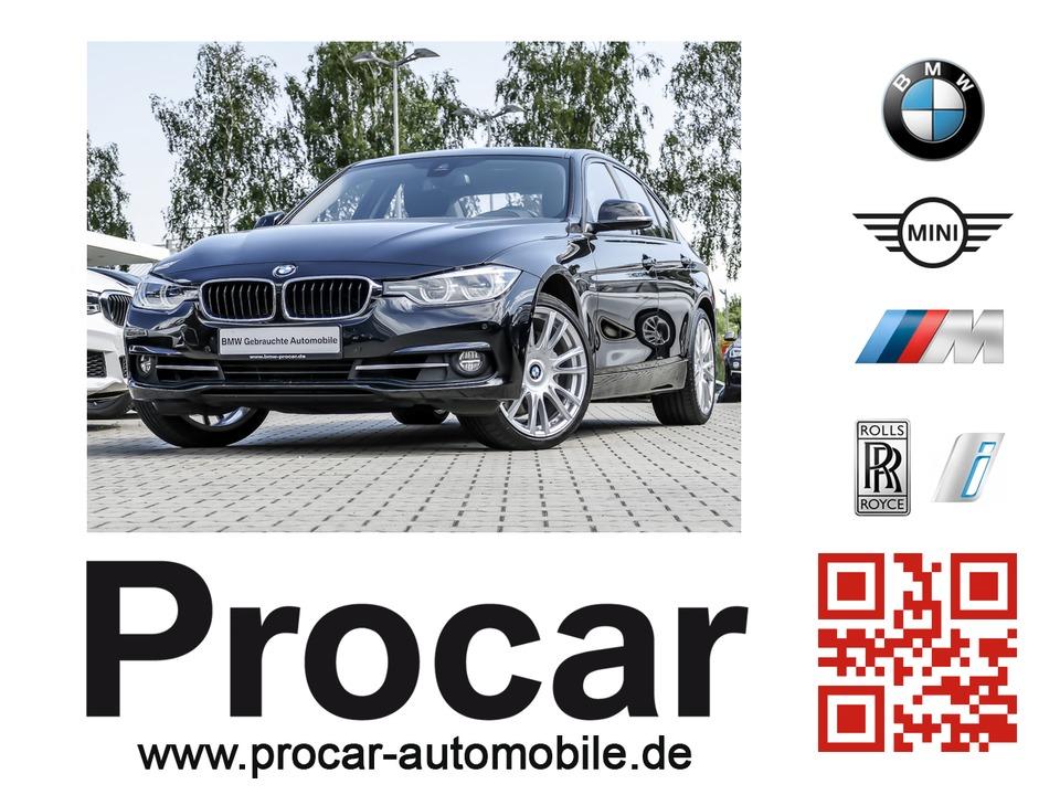 BMW 335d xDrive Sport Line Automatic Innovationsp., Jahr 2017, diesel