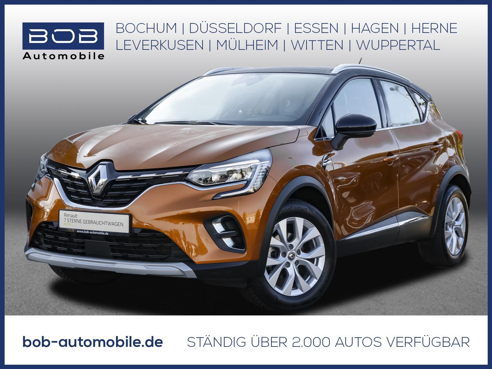 Renault Captur TCe 100 Intens NAVI SHZ PDC KLIMA LM LED, Jahr 2020, Benzin