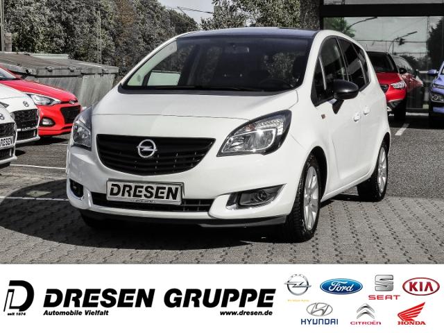 Opel Meriva B 1.4 Turbo Color Edition+Klima+Alufelgen+Zentralverriegelung, Jahr 2015, Benzin