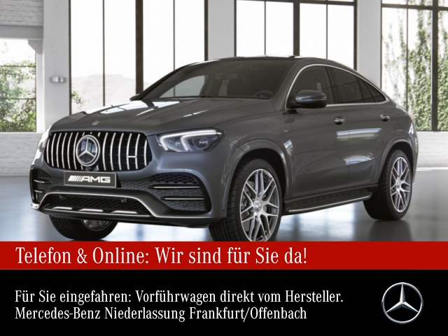 Mercedes-Benz GLE 53 4MATIC Coupé Sportpaket Bluetooth Navi LED, Jahr 2021, Benzin