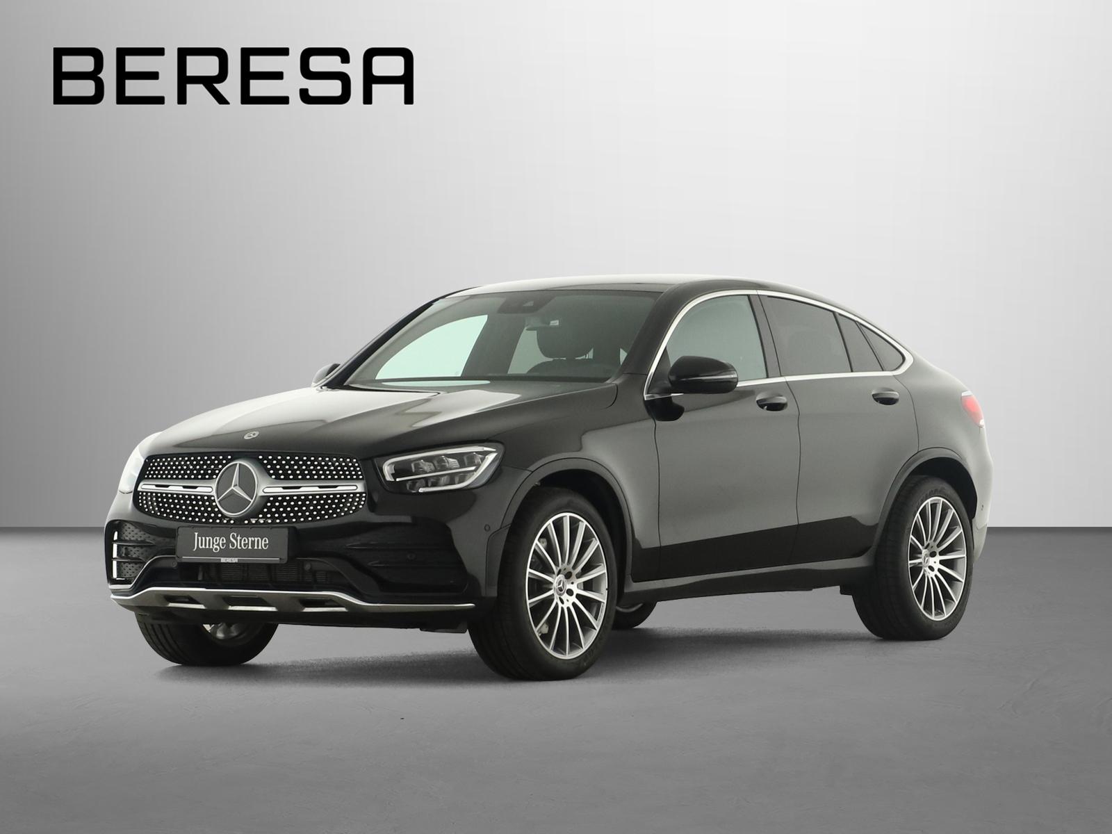 Mercedes-Benz GLC 200 4M Coupé AMG LED AHK Kamera PDC, Jahr 2020, Benzin