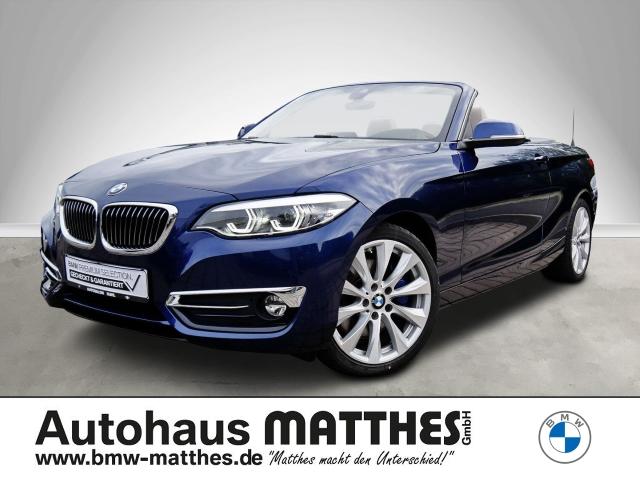 BMW 230 i Luxury Line Cabrio- PDC, Klimaautomatik, LED, Navi etc., Jahr 2018, Benzin
