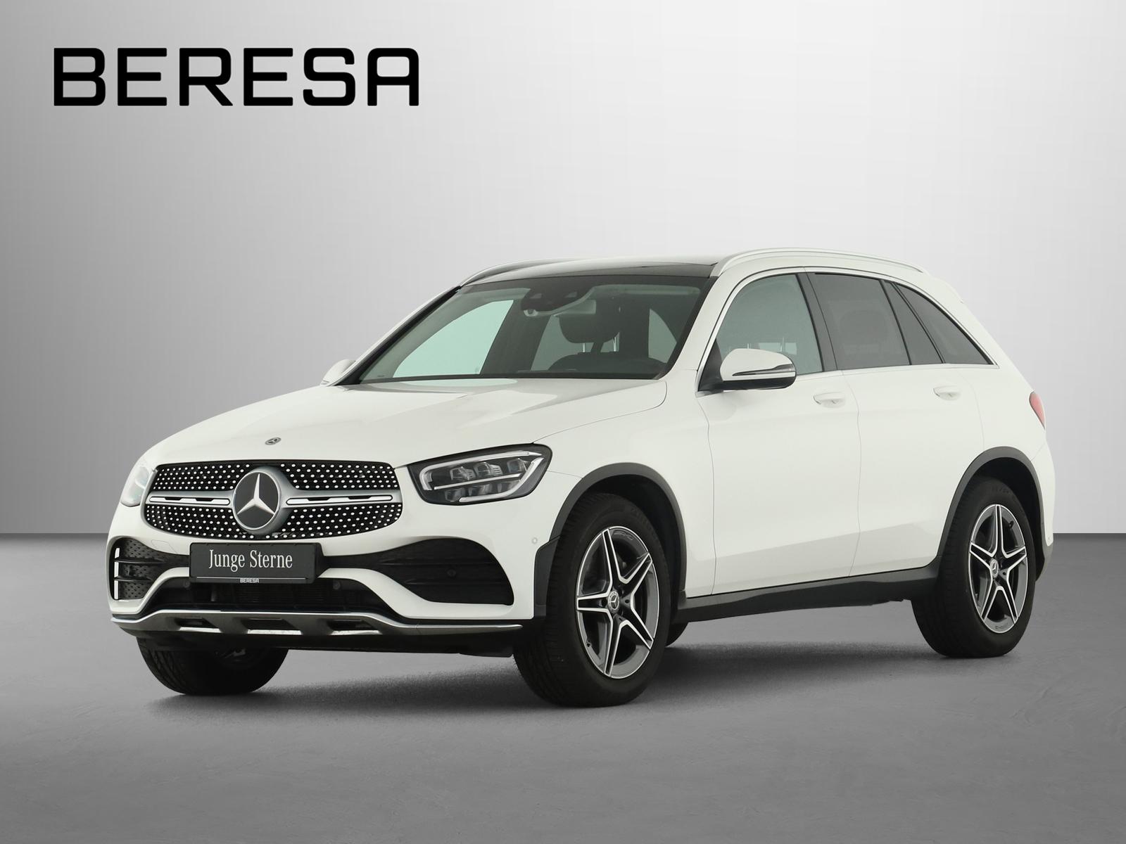 Mercedes-Benz GLC 300 4M AMG Burmester Fahrassist. Pano.-Dach, Jahr 2019, Benzin