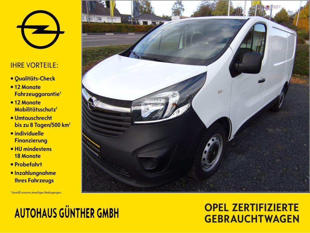 Opel Vivaro 1.6 CDTI L1H1 Holzboden ToterWinkelWarn, Jahr 2016, Diesel