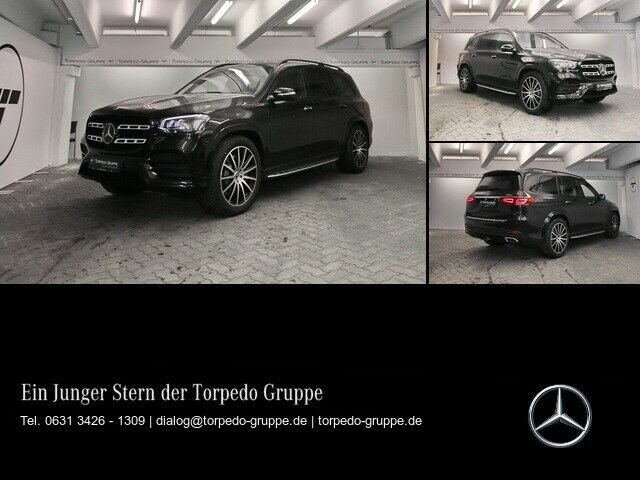 Mercedes-Benz GLS 400 d 4M AMG LED+NIGHT+PANO+AHK+DISTR+MBUX+A, Jahr 2019, diesel