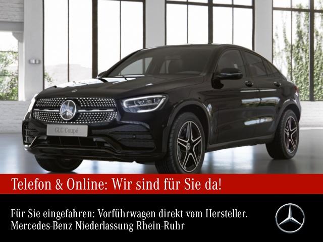 Mercedes-Benz GLC 200 4M Coupé AMG+Night+AHK+LED+Kamera+Keyless, Jahr 2021, Benzin