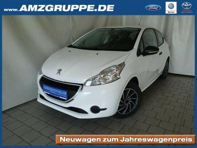 Peugeot 208 Access 1.0Ltr. Klima+mp3+Tempomat, Jahr 2013, Benzin