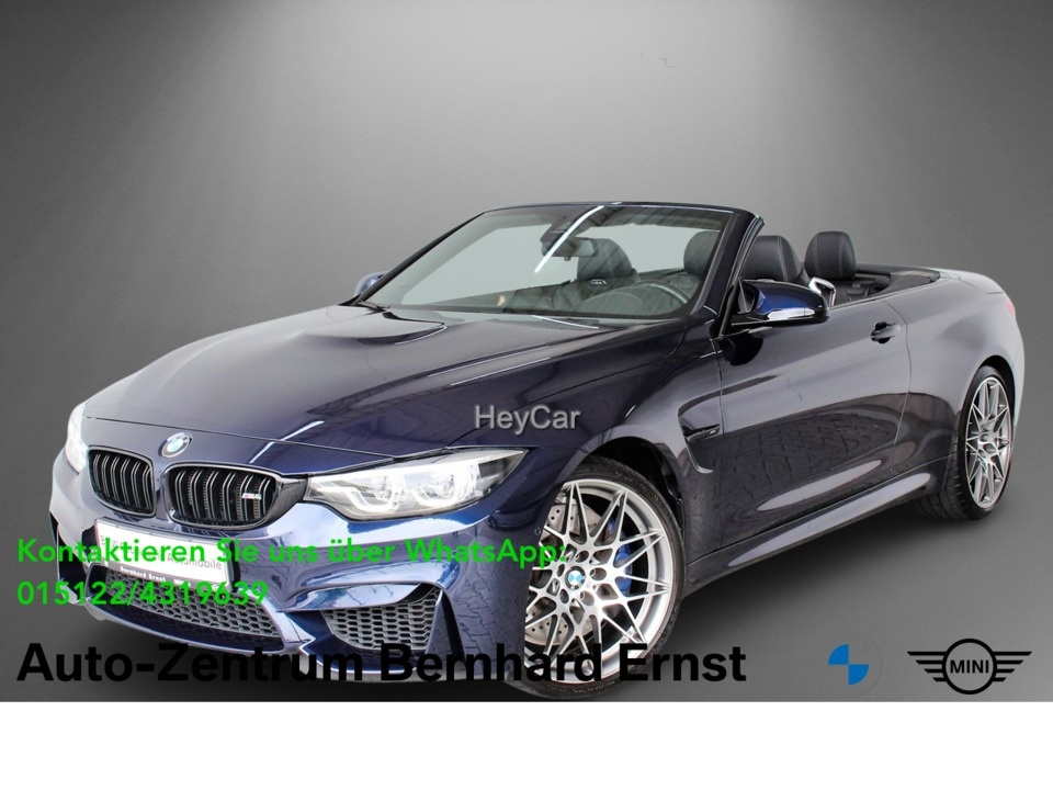 BMW M4 Cabrio Competition Paket M DKG Navi Prof. PDC, Jahr 2018, Benzin