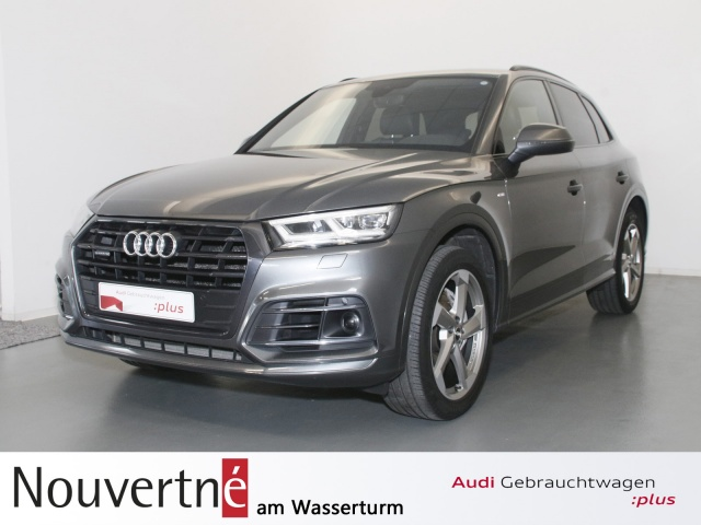 """Audi Q5 3.0 TDI quattro 3x S-Line Matrix AHK ACC 20"""", Jahr 2018, diesel"""