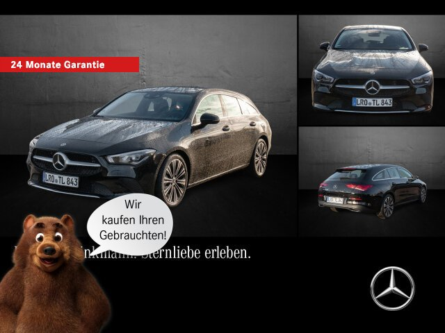 Mercedes-Benz CLA 200 Shooting Brake PROGRESSIV/LED/SHZ/KAMERA, Jahr 2019, Benzin