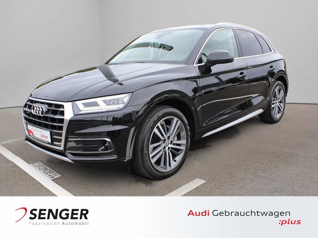 Audi Q5 design 2.0 TDI quattro Navi Leder B&O Matrix, Jahr 2018, Diesel