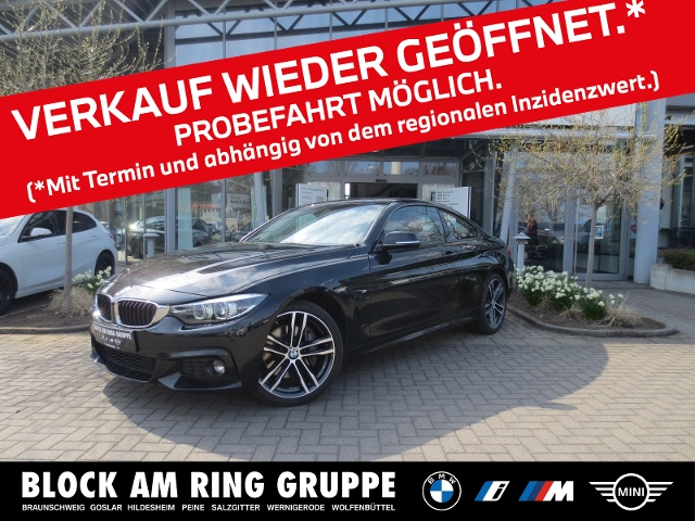 BMW 440i xDrive Coupé M Sport LHZ SH PDC Navi, Jahr 2017, Benzin