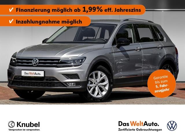 Volkswagen Tiguan IQ.DRIVE 1.5 TSI ACT Fahrass+ HeadUp LED, Jahr 2019, Benzin