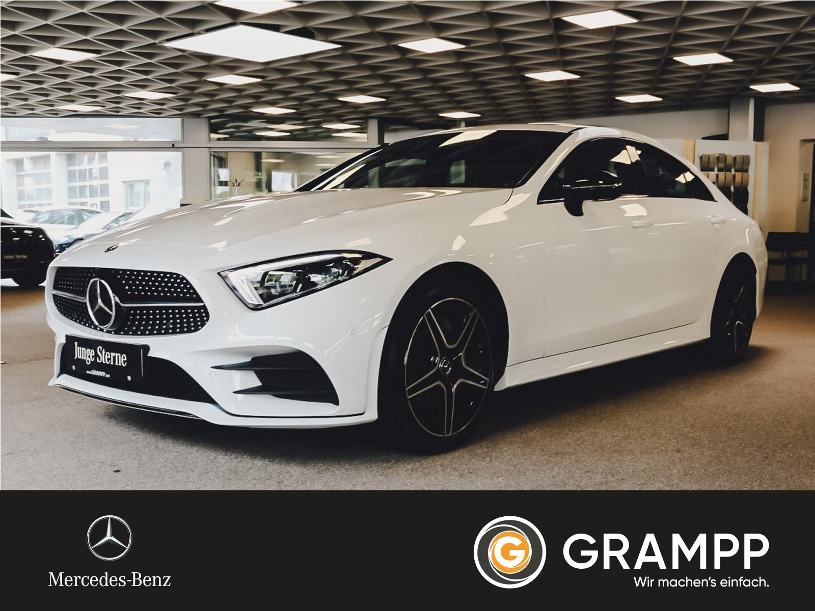 Mercedes-Benz CLS 220 d AMG Business/Distronic/LED/GSD/Night, Jahr 2019, Diesel