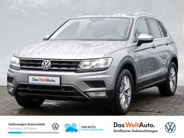 Volkswagen Tiguan 2.0 TDI DSG 4-Motion Highline LED AHK Navi PDC Kamrea SHZ, Jahr 2016, Diesel
