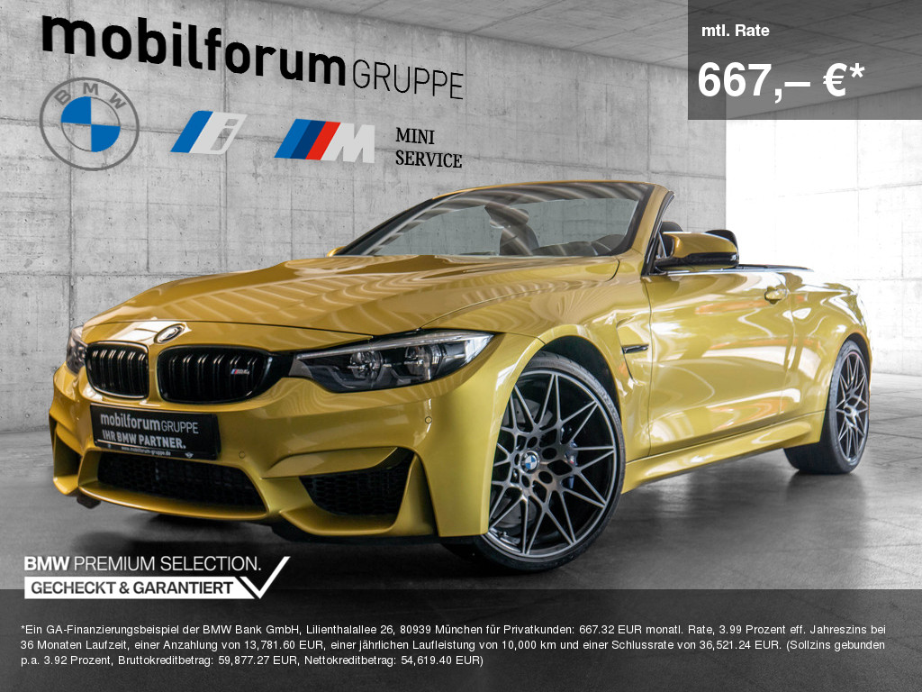 BMW M4 Cabrio Competition, Jahr 2019, Benzin
