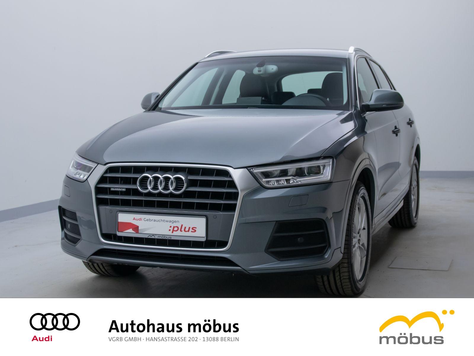 Audi Q3 sport 2.0 TDI quattro S-TRO*NAV*LED*GRA*KLIMA, Jahr 2015, Diesel
