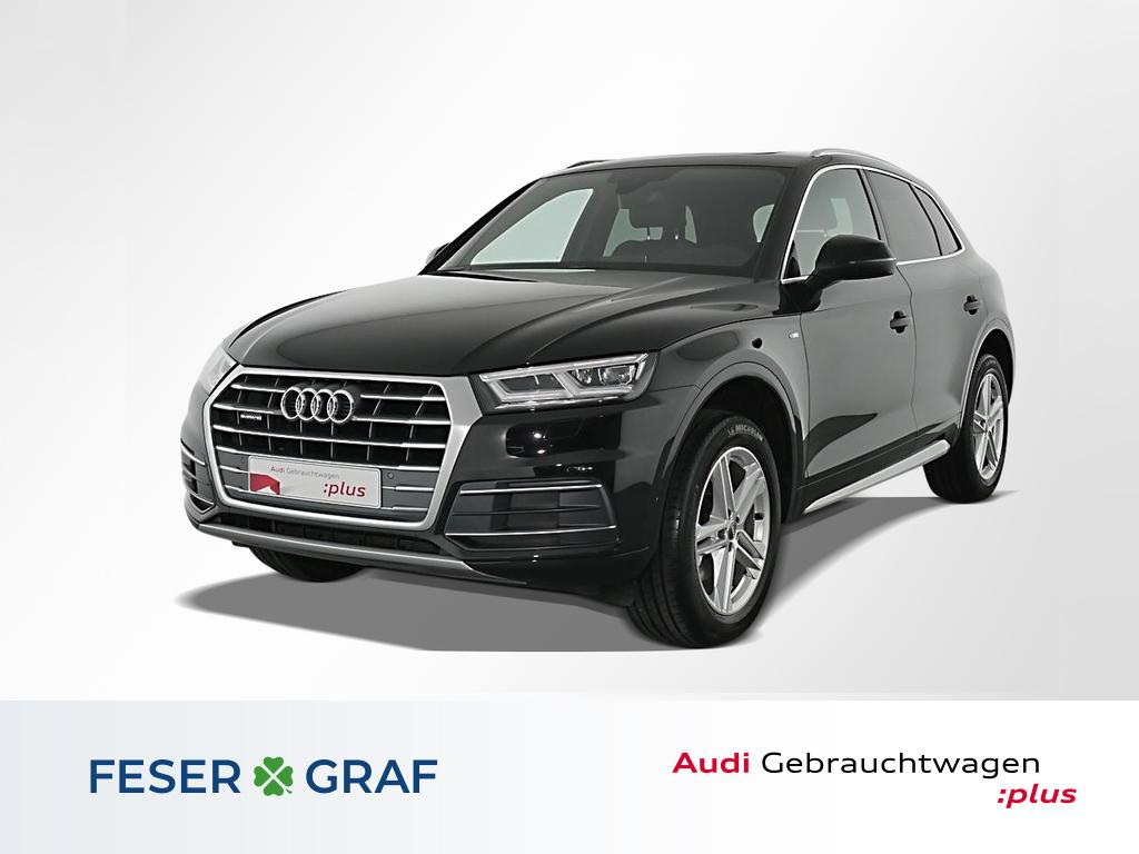 Audi Q5 2.TDI qu.S tronic S Line Pano,LED,Leder,Navi, Jahr 2018, Diesel