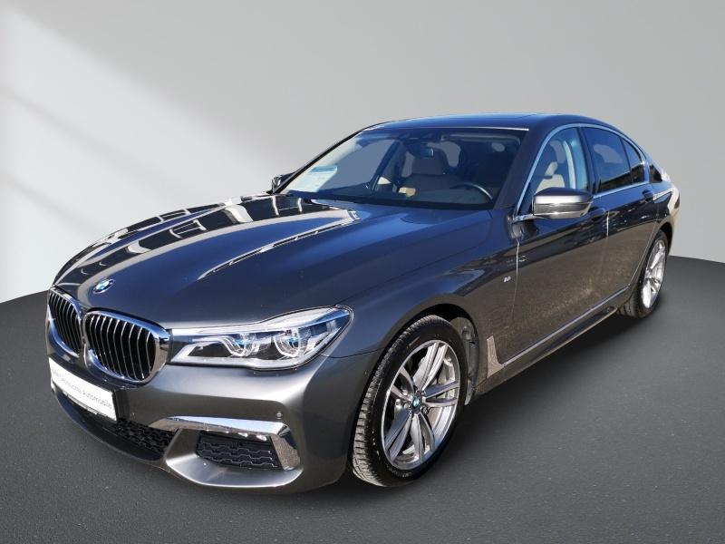 BMW 740d xDrive M-Sport Innovationsp. Navi Prof. Sport Aut., Jahr 2017, Diesel