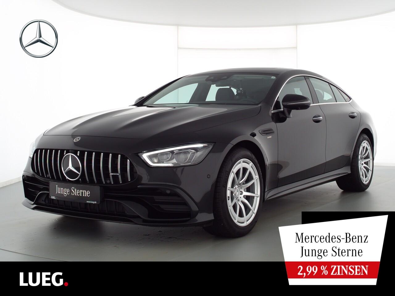 Mercedes-Benz AMG GT 43 MBUX+SHD+Mbeam+RIDE+Carbon+Widesc+360°, Jahr 2020, Benzin