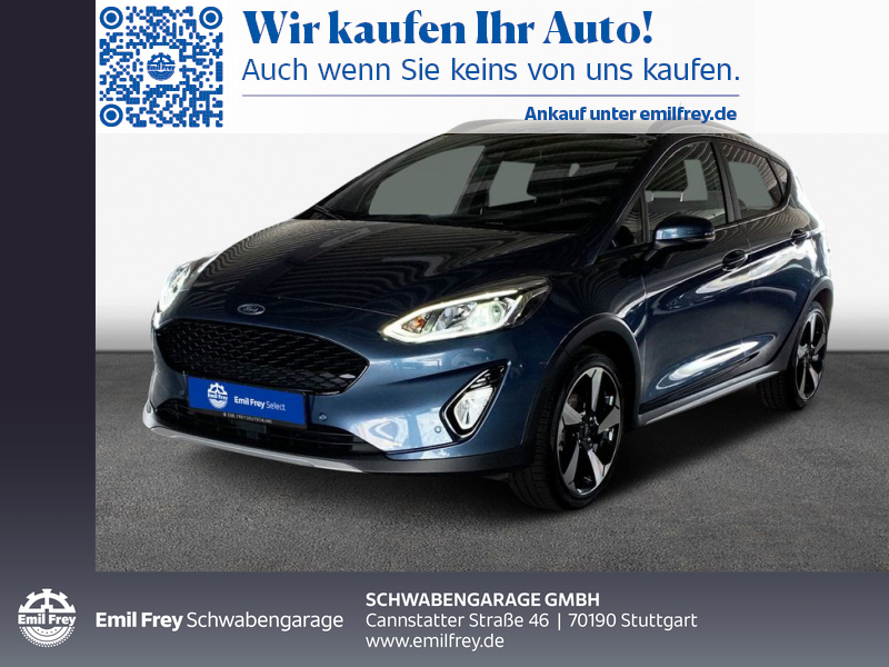 Ford Fiesta 1.0 EcoBoost S&S ACTIVE RFK TWA Navi, Jahr 2020, Benzin