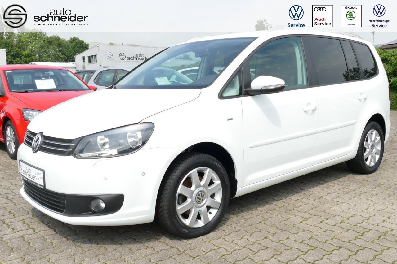 Volkswagen Touran Cup 1.6 TDI Navi Klimaaut. Sitzheizung Alu, Jahr 2014, Diesel