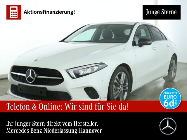 Mercedes-Benz A 200 d Limousine Prog Night Cam Distonic LED, Jahr 2020, Diesel