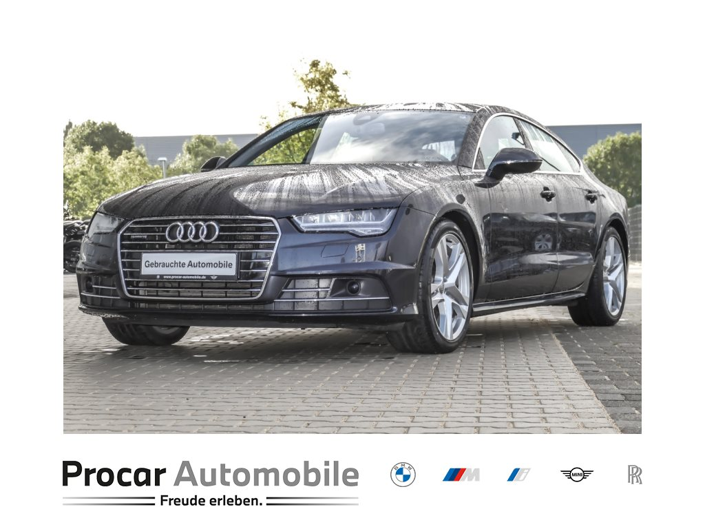 Audi A7 3.0 TDI quattro Luftfederung ACC Standhzg., Jahr 2017, Diesel