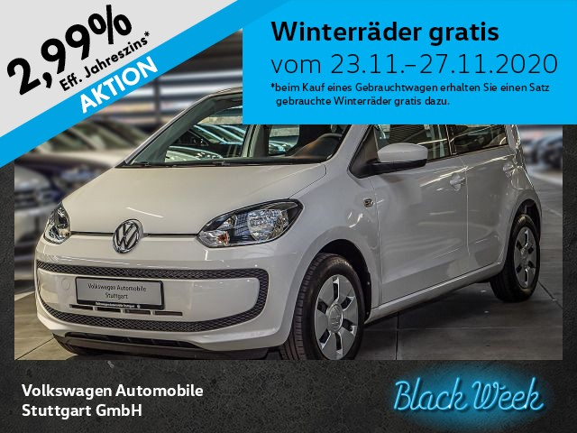 Volkswagen up! 1.0 move up! Klima, Jahr 2015, Benzin
