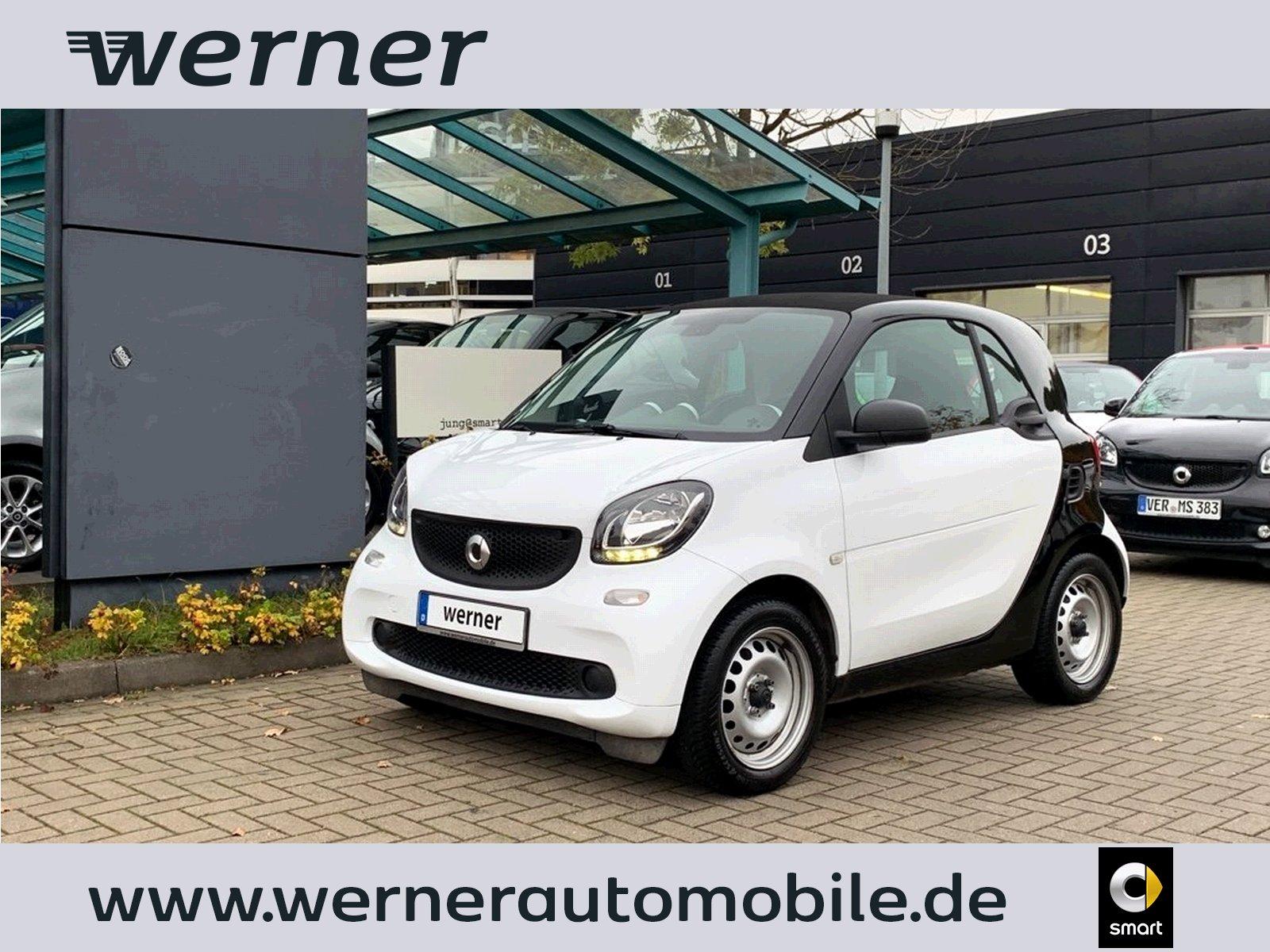 smart fortwo coupe 52 kW ~KLIMA~SERVO~JUNG@SMART~, Jahr 2017, Benzin